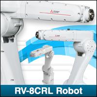 Presentamos el robot RV-8CRL rentable y de alta calidad